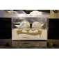 Ceramică Favoruri practice Ustensile de Bucătărie Temă Grădină Alb 9.5*7*6cm Panglici