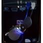 usb flexibel arm mini fläkt med LED-ljus