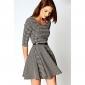 Femei gros Elegant Swing Mini Dress
