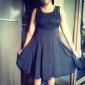 dantelă broderie rochie de despicare femei