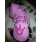 Pisici Câine Hanorace cu Glugă Îmbrăcăminte Câini Respirabil Modă Tiare & Coroane Roz Costume Pentru animale de companie