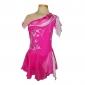 Femme Robe de Patinage Artistique Robe de Patinage Sans Manches Jupes Robes Bas Vestimentaire Respirable Fait à la main Patinage sur