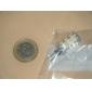 1W G4 Becuri LED Corn T 24 SMD 3528 80 lm Alb Cald AC 12 V