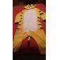 Kigurumi Pijamale Tigru Leotard/Onesie Festival/Sărbătoare Sleepwear Pentru Animale Halloween Peteci Coral Fleece Kigurumi Pentru Unisex