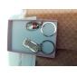 Oțel inoxidabil Favoruri Keychain-6 Piece / Set Brelocuri Temă Grădină Personalizat Argintiu