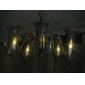 1w e14 lumini lumânare c35 7 smd 5050 40-50lm cald alb 3000k decorative ac 220-240v