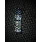 Bărbați Ceas de Mână Ceas Brățară Piloane de Menținut Carnea LED Calendar Oțel inoxidabil Bandă Cool Negru Negru