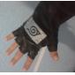 Gants Inspiré par Naruto Cosplay Anime Accessoires de Cosplay Gants Noir Cuir PU Masculin / Féminin