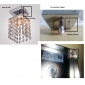 Flush Mount ,  Modern/Contemporary Chrome Feature for Crystal Mini Style Metal Living Room Bedroom Entry