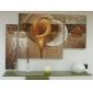 Pictat manual Floral/Botanic orice formă, Modern Hang-pictate pictură în ulei Pagina de decorare Trei Panouri
