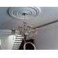 Rustic/ Cabană Cristal Candelabre Iluminare verticală Pentru Sufragerie 110-120V 220-240V Becul nu este inclus