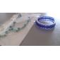 Set bijuterii Pentru femei Zi de Naștere / Cadou / Petrecere / Zilnic / Ocazie specială Set Bijuterii Aliaj Σκουλαρίκια / ColiereCa în