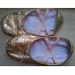 Chaussures de danse(Or) -Non Personnalisables-Talon Plat-Similicuir-Ballet