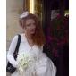 Voal de Nuntă Un nivel Voaluri de Obraz Voaluri Plasă 11.81 în (30cm) Tul