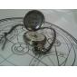 Montre Inspiré par Alchimiste d'acier Edward Elric Anime Accessoires de Cosplay Montre Argenté Alliage Masculin
