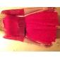 Aifei 1/2 Lungime Lace Mini Dress (roșu, alb)