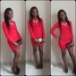 Femei Elegant Ol Bodycon Mini Dress