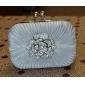 mătase cu cristal / stras / flori de genți de mână de seară / ambreiaje mai multe culori disponibile