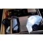 4CH D1 realtid H.264 600TVL Högupplöst CCTV DVR Kit (4st Vattentät Dag Natt CMOS-kameror)