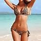 femei leopard de plaj sexy bikini costume de baie