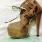 bc piele sexy pentru femei sandale stiletto toc peep toe pantofi