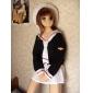 Inspirat de Cardcaptor Sakura Tomoyo Daidouji Anime Costume Cosplay Costume Cosplay Uniforme Școlare Peteci Manșon LungCravată Fustă