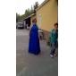 Linia -A Bijuterie Lungime Podea Crepe Rochie Domnișoară Onoare cu Drapat Cruce de TS Couture®