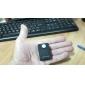 Trådlös PIR sensor rörelsedetektor GSM larmsystem Alert Monitor (Svart)