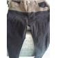 Bărbați contrast de culoare Splicing Slim Jeans