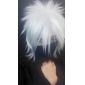 Mask Inspirerad av Naruto Hatake Kakashi Animé Cosplay Accessoarer Mask Svart Polyester Man