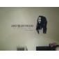 autocolante de perete cuvinte iubesc viața locuiți Bob Marley citează decalcomanii de perete lavabile
