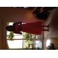 Coloană / Teacă Fără Bretele Lungime Tea Asimetric Șifon Rochie Domnișoară Onoare cu Ruching Volane de LAN TING BRIDE®
