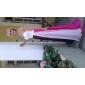 Linia -A Prințesă In Formă de Inimă Lungime Podea Șifon Seară Formală Bal Militar Rochie cu Eșarfă/Panglică Cruce Ruching de TS Couture®