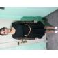 Femei Fileu de manse Pliuri rochie mini