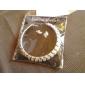 Pentru femei Seturi de bijuterii Cercei Stud Lănțișor Elegant de Mireasă Nuntă Petrecere Zi de Naștere Logodnă Zilnic Cristal Ștras Aliaj