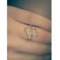 Jian Feng 18K Genuine aur placare zircon J0460 Ring
