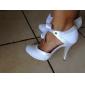 pantofi de femei deget de la picior rotund satin stilet toc pompe de pantofi de nunta mai multe culori disponibile