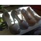 Pantofi pentru femei - Imitație de Piele - Toc Stiletto - Decupați / Pantofi pe Gleznă / Tocuri - Sandale -Nuntă / Birou & Carieră /