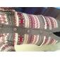 Nou 2014 femeii Snowflake imprimate lână de îngroșare Hooded pulover