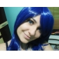 Peruci de Cosplay Cosplay Kotamo Ichinose Albastru Mediu Anime/ Jocuri Video Peruci de Cosplay 60 CM Fibră Rezistentă la Căldură Feminin