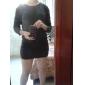 Femeile lui Puff Sleeve rochie mini