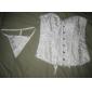 corsete închidere satin fara bretele Busk față shapewear ocazie speciala mai multe culori disponibile sexy lenjerie formator