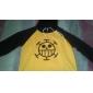 Inspirat de One Piece Trafalgar Law Anime Costume Cosplay Topuri Cosplay / Bottoms Imprimeu Manșon Lung Vârf Pentru Bărbătesc