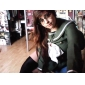 Inspirat de Shakugan no Shana Shana Anime Costume Cosplay Costume Cosplay Uniforme Școlare Peteci Manșon Lung Vârf Fustă Panglică Pentru