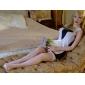 dantelă zburli sexy ciorapi de plasă transparent pentru femei