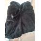 haină de blană pentru femei cu curea