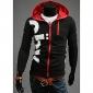 Hanorac Jachetă Slim Din Două Piese În Culori Contrastante Pentru Bărbați