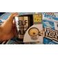 Automatisk kaffe blandning kopp / rån drinkware rostfritt stål kaffekopp självrörande elektrisk rånknapp