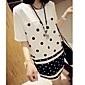 Femei New Style Polka Dot Dress (Fără colier si Bag)