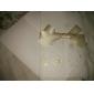 eșantion de epocă relief invitatie de nunta tri-ori cu arcul panglică (un set)
